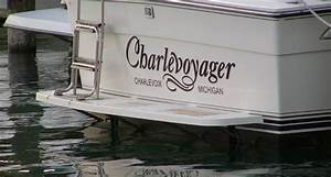 boat graphics design your own boat plans self project With boat lettering design online
