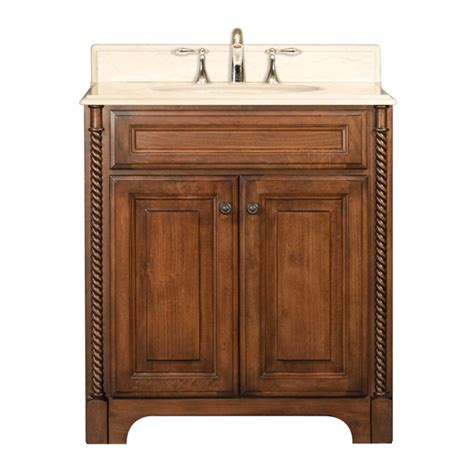 Water Creation Spain 30 Inch Bathroom Vanity, Solid Wood