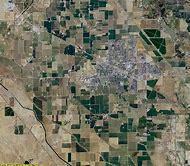 Merced County California Map