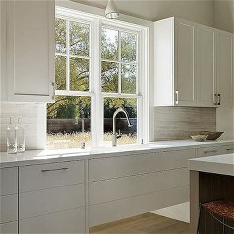 Ikea Lamp White by Flush Front Shaker Cabinets Design Ideas