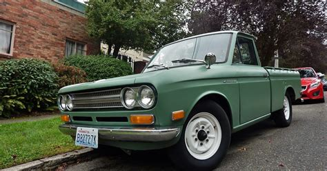 Datsun Truck Parts by Seattle S Parked Cars 1970 Datsun 521
