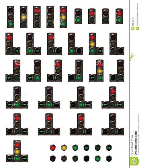 Traffic Lights Stock Vector. Illustration Of Symbol
