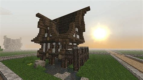 khajiit house elder scrolls  minecraft map