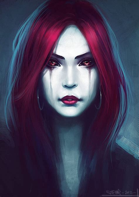 Gothic Vampire 2 By Cgsoufianedeviantartcom On