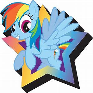 My Little Pony Rainbow Dash Magnet