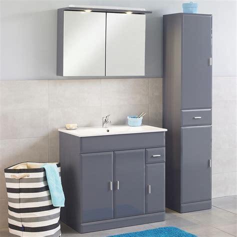 bricorama cuisine meuble meuble de salle de bain aloha 80 gris meuble de salle de