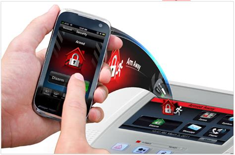 smartphone security system using your home alarm system is easy securityone