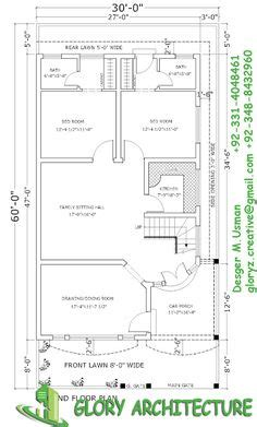 house plan elevation  view drawings