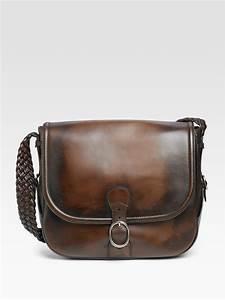 18807f8d0f3 Gucci Messenger Bag. lyst gucci flap messenger bag in black for men ...