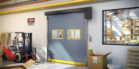Interior Fabric Rollup Doors By Albany Provide Reliable