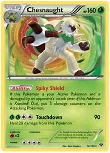 Chesnaught - XY #14 Pokemon Card