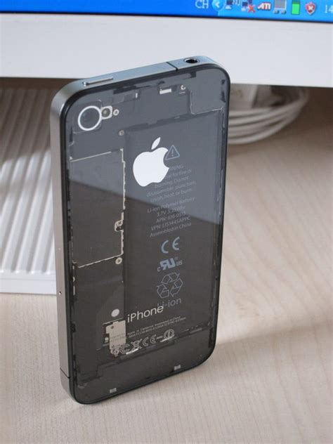 how to clear from phone transparent iphone 4 casemod looks great doesn t make