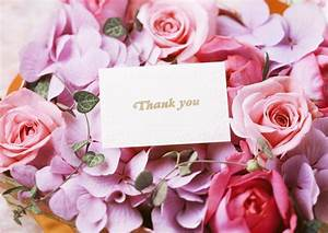 bouquet roses cards thank you flower bouquet roses card ...