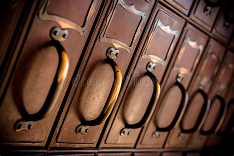 vintage postal relay mail box stock photo image