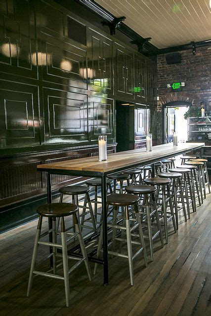 percys  ballard seattle wa   high bar table