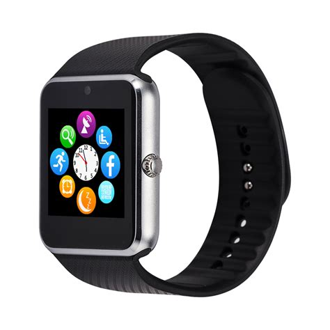smartwatch for android gt08 smart phone bluetooth wrist smartwatch for