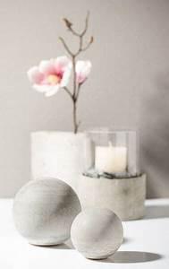 Dekokugeln Selber Machen : kreativ tipp windlicht aus kreativ beton basteln diy beton pinterest basteln and blog ~ Watch28wear.com Haus und Dekorationen