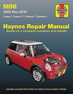 Mini Cooper  U0026 Clubman Haynes Repair Manual  2002