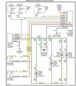 Diagram  1999 Subaru Forester Stereo Wiring Diagram