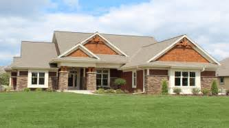 craftsman open floor plans craftsman style ranch home elevations modern ranch style