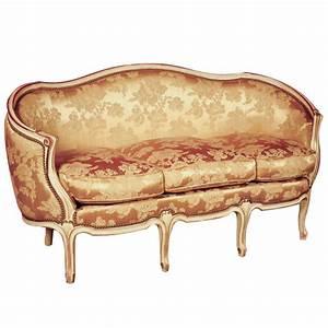 Meuble Style Louis Xv : canap ottoman 3p style louis xv louis xv ateliers allot meubles et si ges de style ~ Dallasstarsshop.com Idées de Décoration