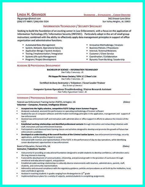 Entry Level Firefighter Resume by 25 Best Ideas About Firefighter Resume On