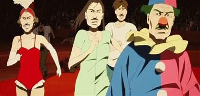 Paprika Kon Satoshi Anime Movie 2006 Moustaches