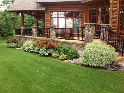 Stairs Plants Shrubs - Landscape Design Brainerd Minnesota