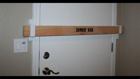 zombie bar door barricade kit youtube