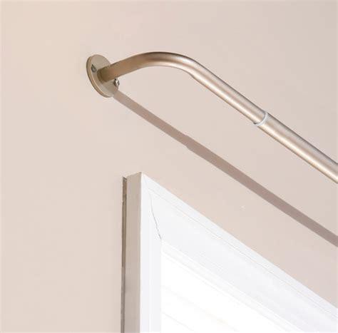 pole curved curtain rod curtain poles