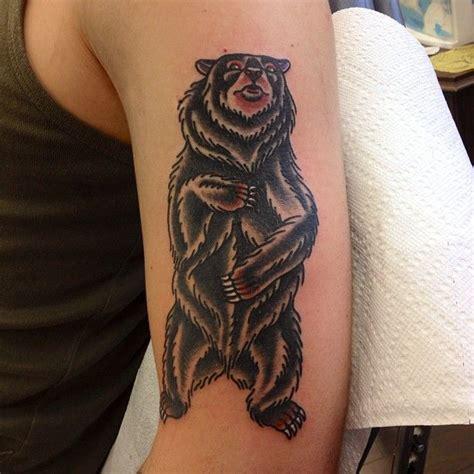 bear tattoo  school images  pinterest bear