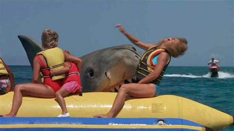 Banana Boat Ride Shark Attack 10 things to about jaws the den of