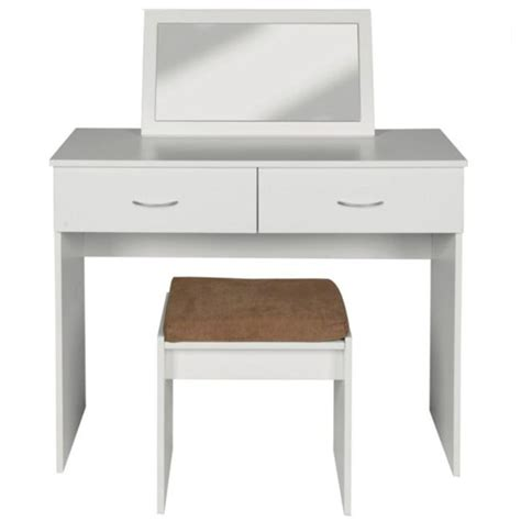 Cheap Dressing Tables With Mirror And Stool Impressions Dressing Table Stool And Mirror From Argos