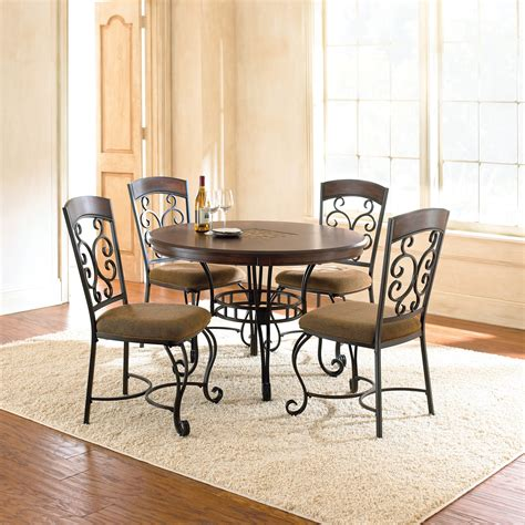 Steve Silver Greco Dining Table  Black  Cherry  Kitchen
