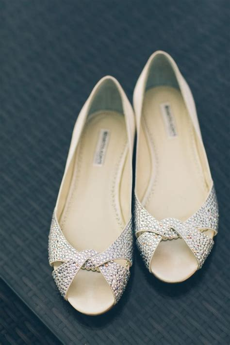 Wedding Flats by Chic Fort Tryon Park Outdoor Wedding Shoes