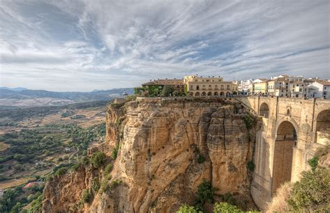 Ronda Málaga Spain Hdr Hdr From Five Bracketed