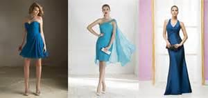 robe pour mariage bleu 15 robes bleues pour les invitées du mariage