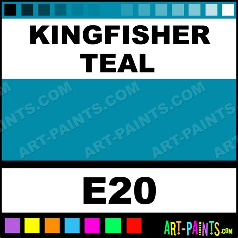 kingfisher teal casual colors spray paints aerosol