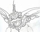 Gremlins Gremlin Coloring Deviantart Sketch Britt Gizmo Printable Spike Draw Template Sketches Finger Mouse Computer Sheets Tattoo Horror Dibujo sketch template