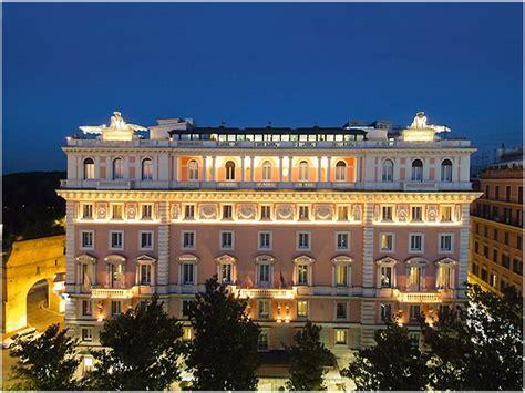 chambre d hotes rome grand hotel flora rome italie cap voyage
