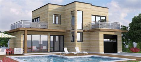 maison en bois kit cle en maison en kit