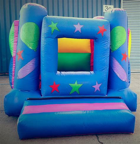 bouncy castle box ballpit fun
