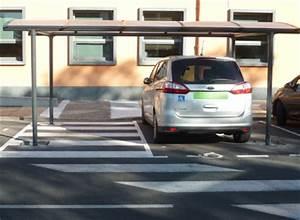 Les Places De Parking Handicapés Sont Elles Payantes : un abri voiture pour places handicap es normes pmr respect es ~ Maxctalentgroup.com Avis de Voitures