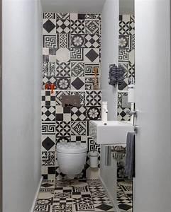 peinture sur carrelage sol salle de bain 6 toilette With deco jardin zen exterieur 17 credence cuisine deco bleu dans petite cuisine blanche