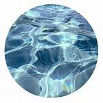 Aesthetic Waves Clipart Circle Water Transparent Ocean