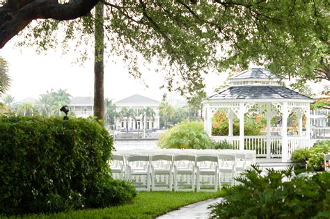 davis island garden club wedding tampa bridal show