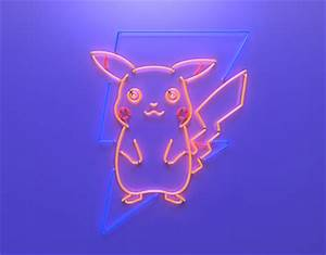 Pokeman GO Pikachu Neon Sign on Behance