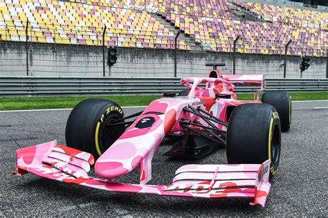 Formula 1 rolex belgian grand prix 2021 (official). Speed & Style! BAPE & Formula 1 Reveal A Pink ABC CAMO Covered Race Car | stupidDOPE.com