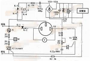 Circuit Diagram Of Leakage Alarm Ac Voltage Regulator
