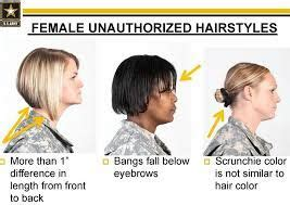 female military hairstyles images  pinterest